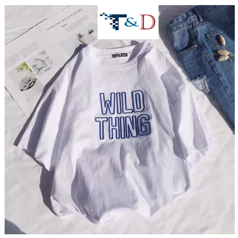ÁO THUN NỮ WIND THING TRẮNG D734