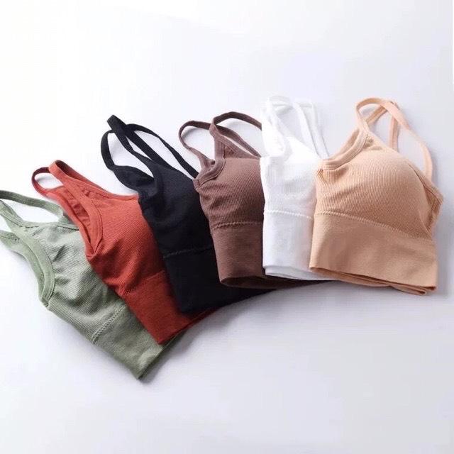 Áo bra dệt hở lưng DA P06