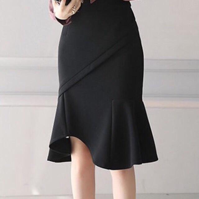Chân Váy Đuôi Cá Phong Cách ĐEN V52