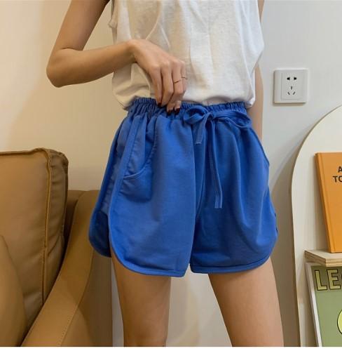 Quần short cotton nữ 4 túi thời trang XANH BÍCH S79